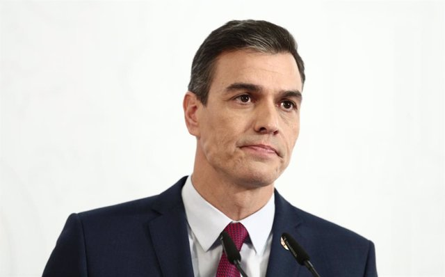 Archivo - Arxiu - El president del Govern espanyol, Pedro Sánchez.