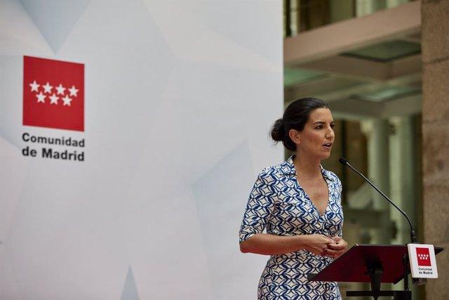 Arxiu - La líder de Vox a l'Assamblea de Madrid, Rocío Monasterio.