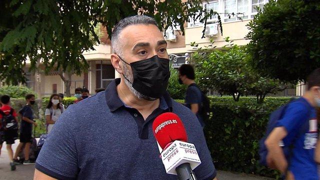 Portavoz de Facua, Rubén Sánchez
