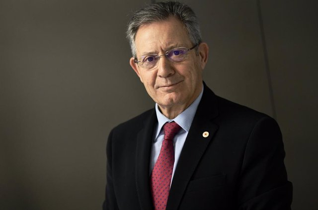 Archivo - El presidente de Cruz Roja Española, Javier Senent García.