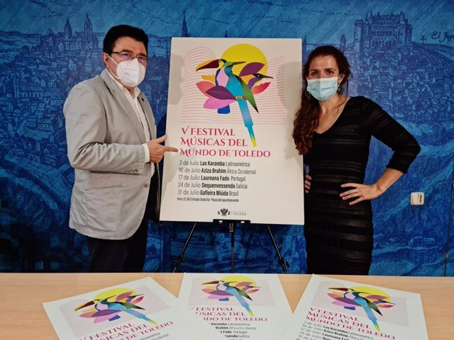 Presentación del V Festival Músicas del Mundo de Toledo