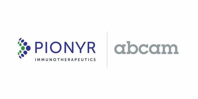Pionyr Immunotherapeutics and Abcam Logo