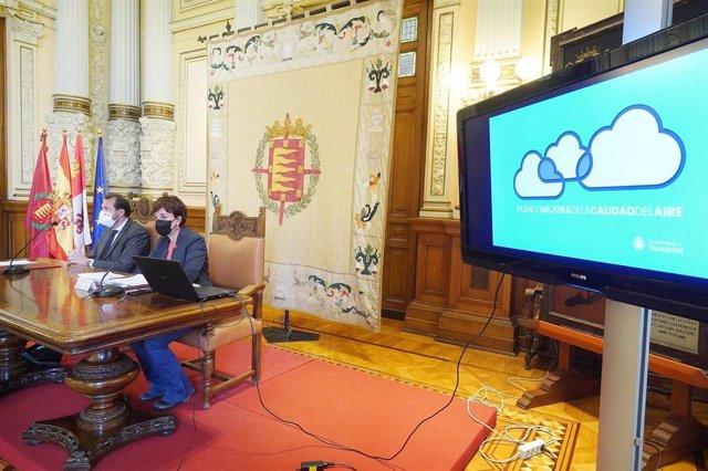 Presentación del Plan de Calidad del Aire del Ayuntamiento de Valladolid.
