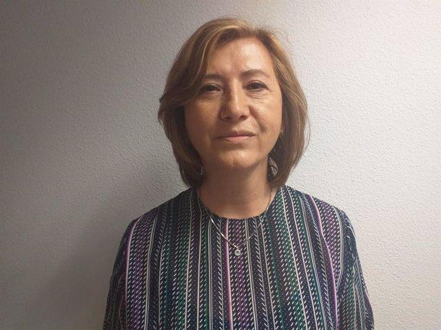 La portavoz de Chunta Aragonesista (CHA) en el Ayuntamiento de Teruel, Marisa Romero.