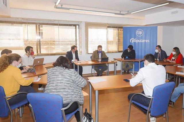 Archivo - Comité organizador del XIV Congreso Provincial del PP de Almería