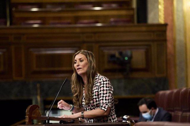 Sara Giménez, diputada de Ciudadanos en el Congreso de los Diputados y miembro de la Asamblea Parlamentaria del Consejo de Europa.