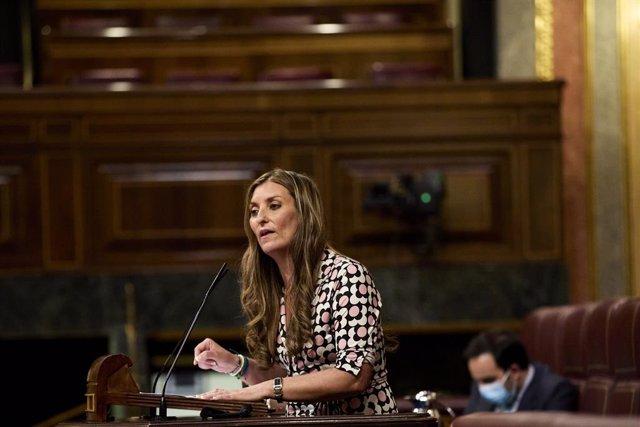 Arxiu - Sara Giménez, diputada de Cs al Congrés dels Diputats i membre de l'Assemblea Parlamentària del Consell d'Europa.