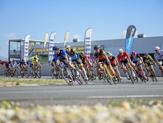 Trackman cycling en Almería