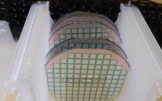 Obleas de silicio fabricadas en el Instituto de Microelectrónica de Barcelona
