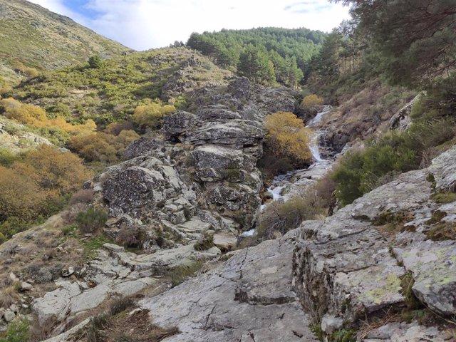 Archivo - Garganta del Oso en la Sierra de Béjar de Salamanca.