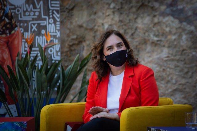 Archivo - Arxiu - L'alcaldessa de Barcelona, Ada Colau, en una foto d'arxiu.