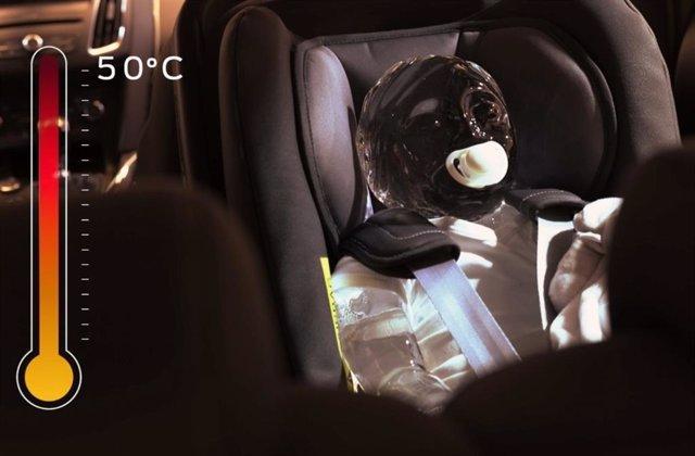 Alerta d'Ocupant Posterior de Ford.