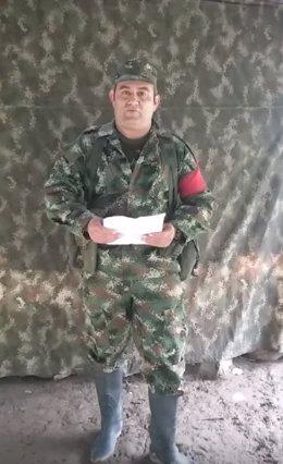 Archivo -    El máximo líder de la banda criminal del Clan del Golfo, Dairo Antonio Usuga, alias 'Otoniel', ha confirmado a través de un vídeo lo que el presidente de Colombia, Juan Manuel Santos, ha anunciado horas antes sobre el deseo de la banda de som