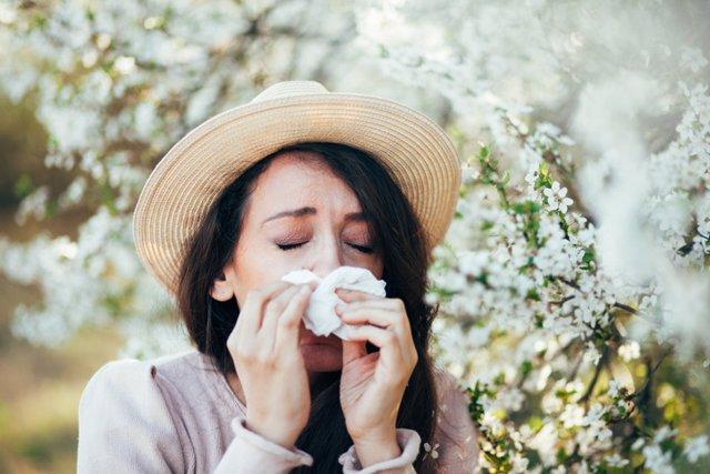 Archivo - Alergia, polen