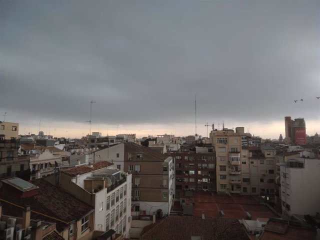 Lluvias en València
