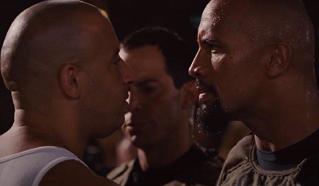 Vin Diesel revela por qué se peleó con Dwayne Johnson en el rodaje de Fast & Furious