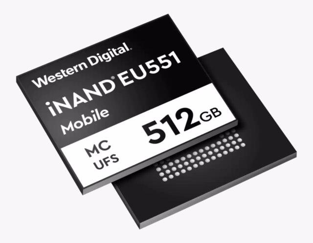 Unidad flash iNAND MC EU551