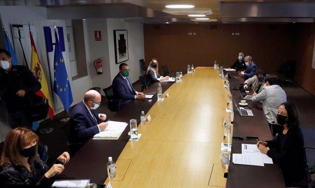 Reunión del Consejo de Gobierno.