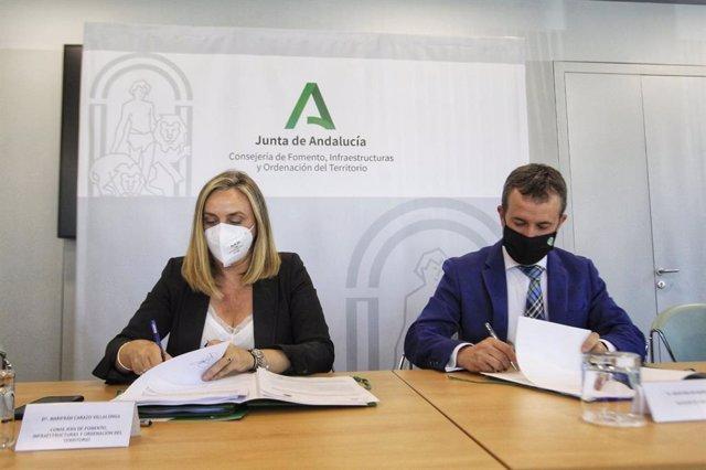Carazo y Millán firman la extinción del antiguo convenio del tranvía.