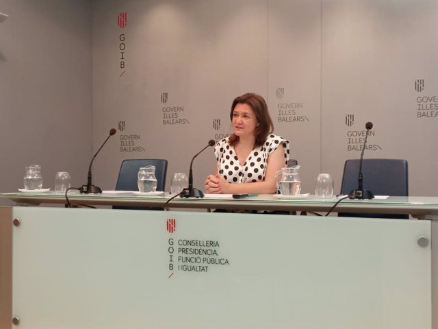 La consellera de Presidencia, Función Pública e Igualdad, Mercedes Garrido.