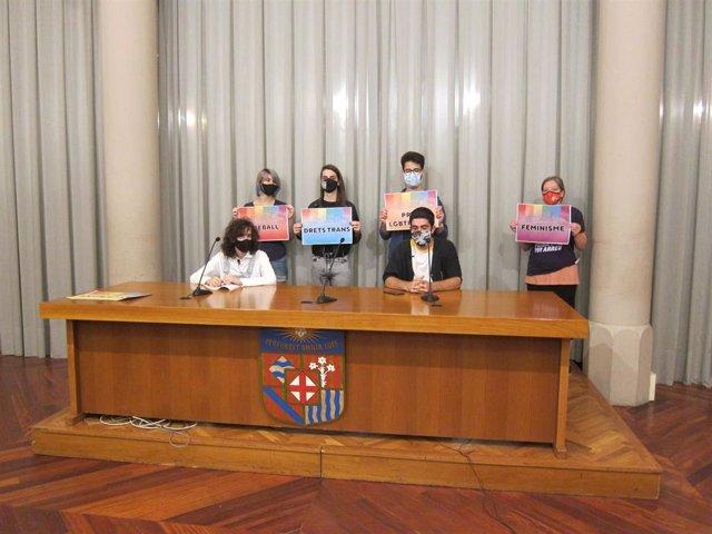 Entidades convocantes de la manifestación LGTBI en Barcelona