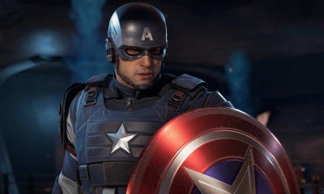Capitán América en el videojuego Marvel's Avengers