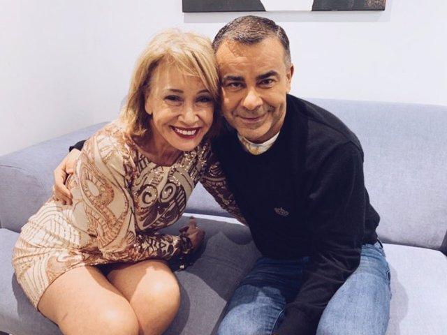 Imagen con la que Jorge Javier Vázquez se ha despedido de Mila Ximénez