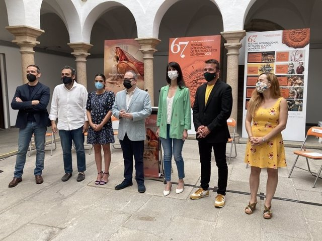 Presentación de uno de los conciertos y el documental incluidos en el Festival de Mérida para este fin de semana.