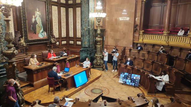 Pleno del Ayuntamiento de Barcelona de junio de 2021