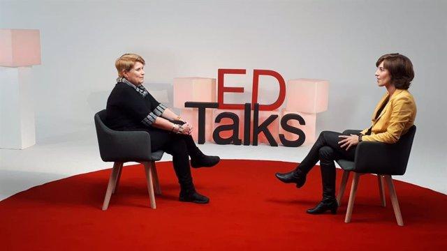 La neuroeducadora Anna Forés en las conversaciones Education Talks de la UAO CEU