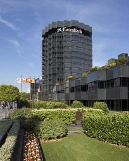Archivo - Sede corporativa de CaixaBank en Barcelona