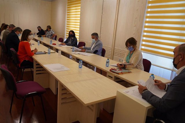 Reunión de la Junta de Gobierno de la Diputación de Segovia.