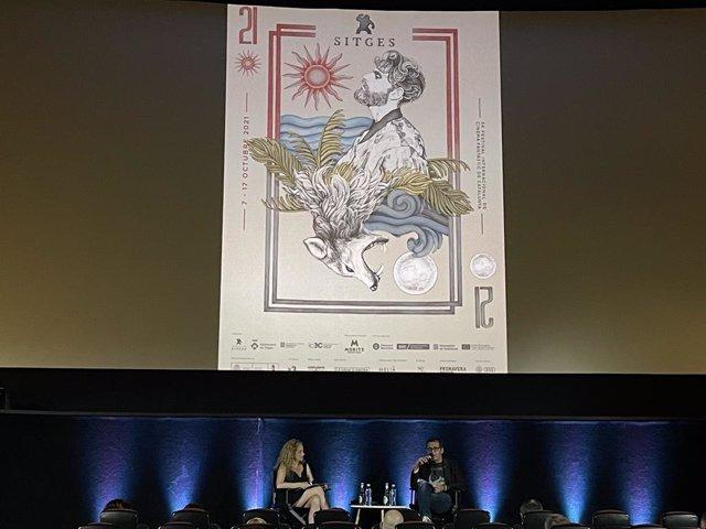Roda de premsa de presentació del 54è Sitges Festival Internacional de Cinema Fantàstic