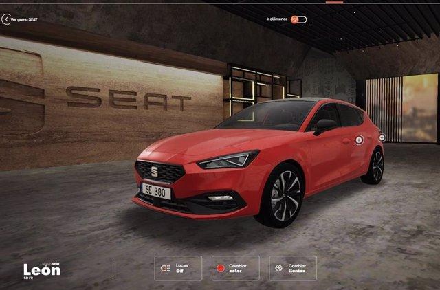 Seat lanza un showroom virtual con atención personalizada.