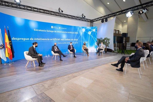 Presentación de la Estrategia gallega de inteligencia artificial 2030