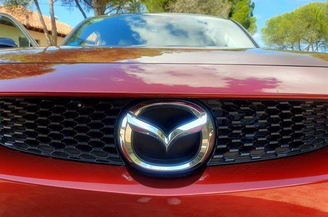 Archivo - Logo de Mazda.