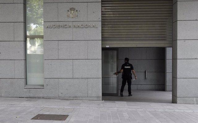 Entrada de la Audiencia Nacional