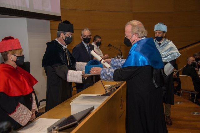 Damià Barceló ha sido investido doctor honoris causa por la Universitat de Lleida.