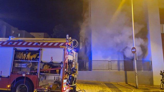 Imagen de archivo de un incendio en vivienda