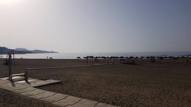 Archivo - Playa de Málaga