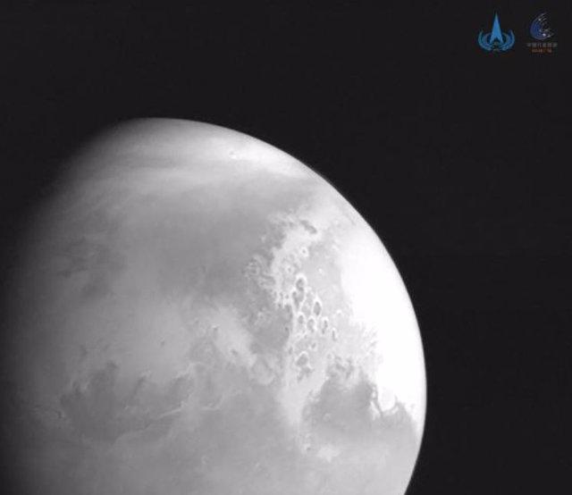 Marte captado por Tianwen 1