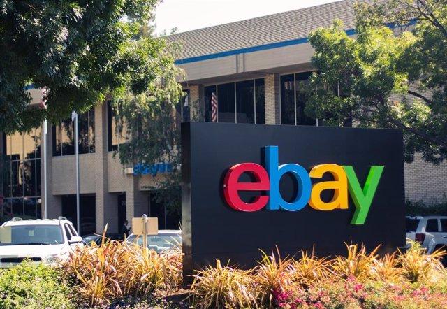 Archivo - Oficinas de eBay en California (Estados Unidos).