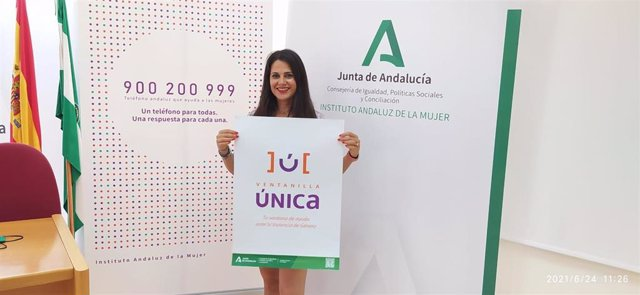 María Encarnación Santiago, asesora de programa del Instituto Andaluz de la Mujer (IAM) en Málaga