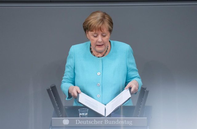 Angela Merkel, canceller d'Alemanya