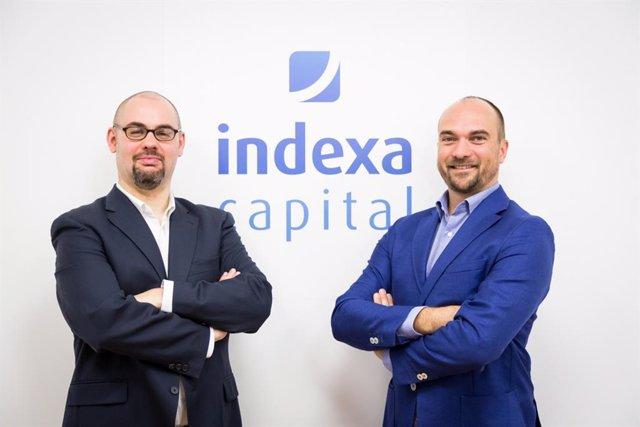 Archivo - (I-D) Los co consejeros delegados de Indexa, Unai Ansejo y François Derbaix