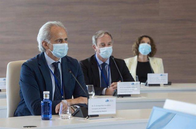 El consejero de Sanidad del Gobierno regional, Enrique Ruiz Escudero