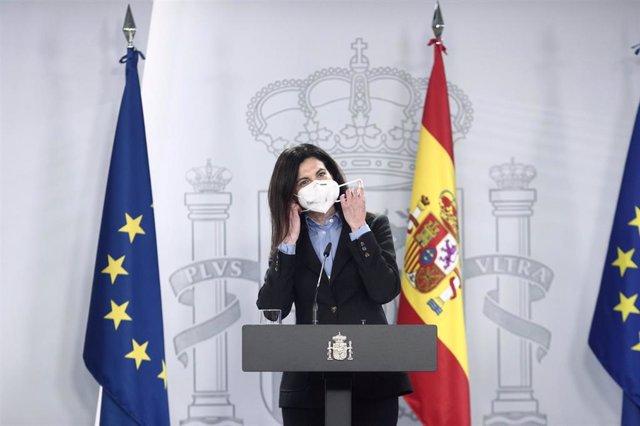 Archivo - La directora del Instituto de Salud Carlos III, Raquel Yotti interviene durante la Presentación de las conclusiones de la cuarta ronda del Estudio nacional de Seroprevalencia ENE-COVID , en Madrid (España), a 15 de diciembre de 2020.