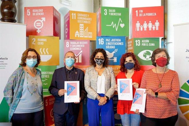 La viceconsejera de Igualdad, Políticas Sociales y Concilación, María del Carmen Cardosa, en la presentación del informe 'Trabajo infantil: estimaciones mundiales 2020, tendencias y el camino a seguir'