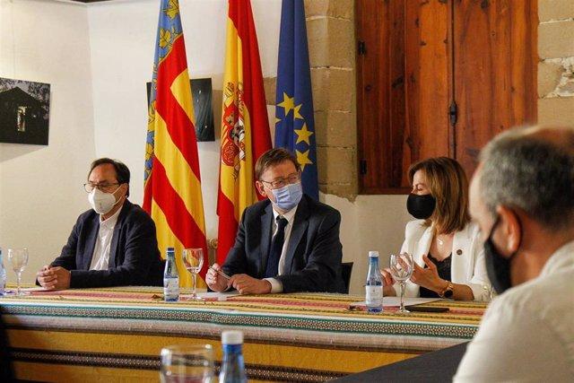 Ximo Puig en Villafranca.