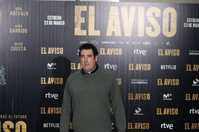 Archivo - Photocall de la película El aviso con el director Daniel Calparsoro